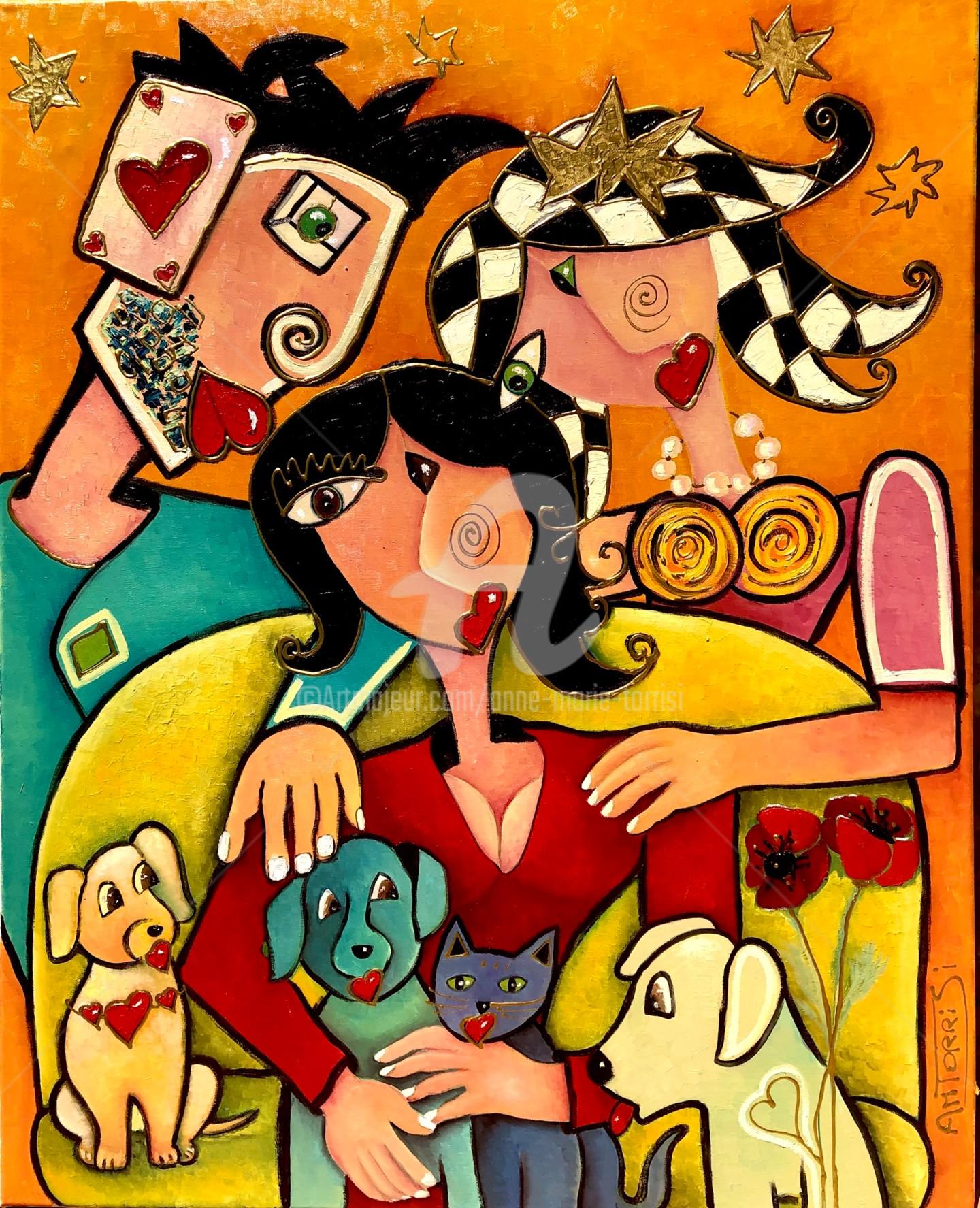 Anne Marie Torrisi - LA PRÉSENCE portrait de famille