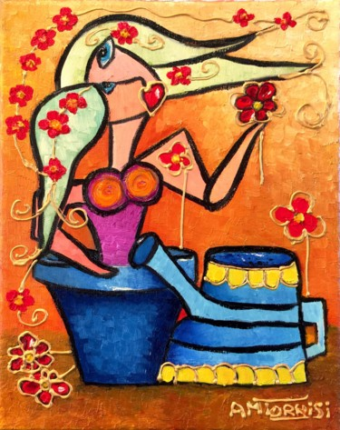 Le femme fleur