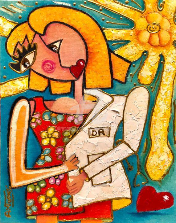 ANNE MARIE TORRISI - LA BLOUSE BLANCHE